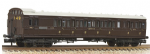 374-910 Farish SE&CR 60ft Birdcage 3−Coach Pack SE&CR Wellington Brown